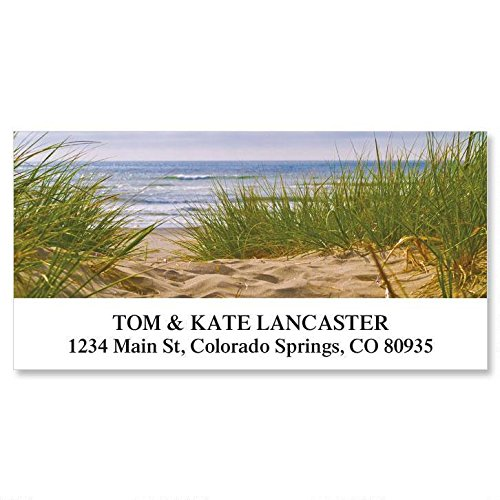 Beach Path Self-Adhesive, Flat-Sheet Deluxe Address Labels