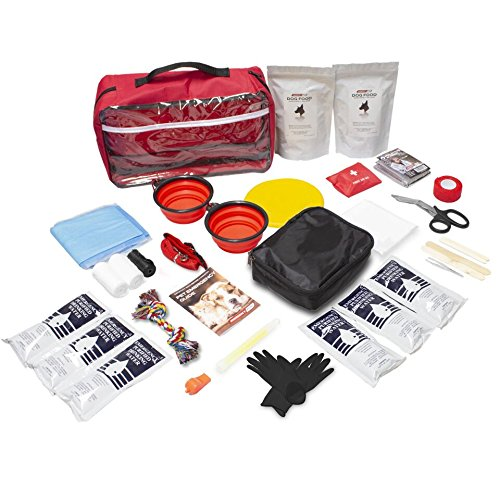 Emergency Zone Basic Dog Emergency Survival Kit. Prepare Your Dog for Hurricanes, Earthquakes, Wildfires, - Pet Kit Survival
