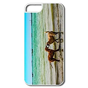 TYH - Funny Gawadar Beach IPhone 5/5s Case For Birthday Gift phone case