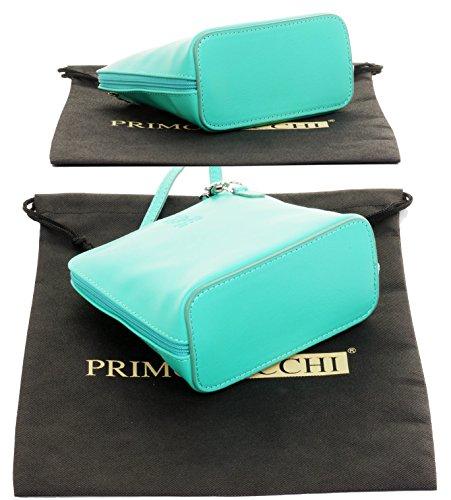 de à micro Sacchi corps ou sac de italien un Aqua Bleu Main en main de de de marque Comprend croix Primo protection de mou cuir petitessAc Fait d'épaule rangement de sac 6dT4Zqwv