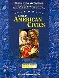 American Civics, Holt, Rinehart and Winston Staff, 0030676991