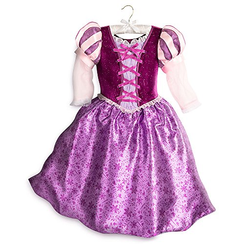 Rapunzel Costumes Disney (Disney Rapunzel Costume for Kids - Tangled: The Series Size 5/6 Purple 428413219336)