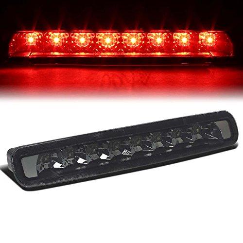 For Ford Mustang 5th Gen Pony Shelby High Mount LED 3rd Tail Brake Light (Smoke Lens) ()