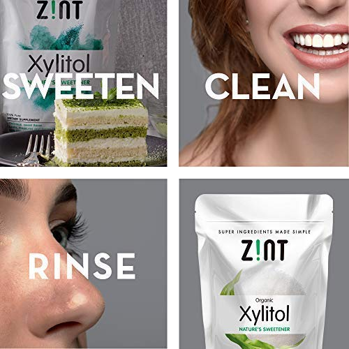 Organic Xylitol Sweetener XL (5 lbs): Keto Friendly, Low-Carb, Low-Calorie, USDA Organic Natural Sugar Substitute, Non GMO, Low Glycemic Index, Measures & Tastes Like Sugar by Zint (Image #5)
