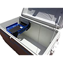 Cooler Shelf CSSB985 Food Tray for Ice Chest, Small, Blue