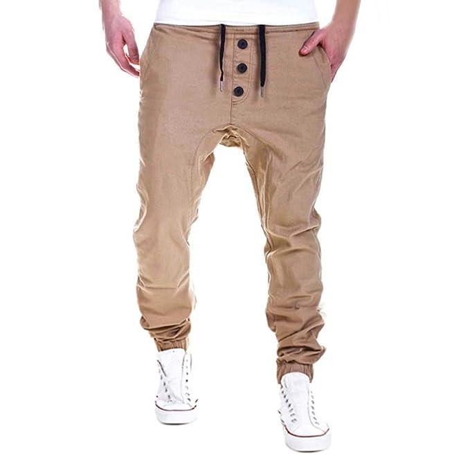 Hombres Pantalones,ZARLLE Moda Pantalones de chándal de ...