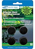 Healthy Ponds 52022 Pond Water Colorant/Spray Pattern Indicator Pellets (4), Reflection (Black); Each Pellet Treats 4,100 Gallons of Water