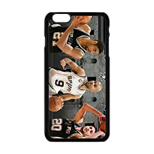 Happy Basketball Star Fashion Comstom Plastic case cover For Iphone 6 Plus
