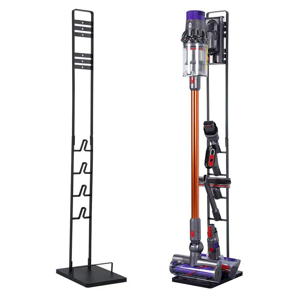 Slsy Storage Stand Dockings Station Fit for Dyson V10, V8, V7, V6, DC58, DC59 DC30 DC31 DC34 DC35 DC58 DC62 DC74 Vacuum, Portable Floor Stand Compatible with Handheld Vacuum
