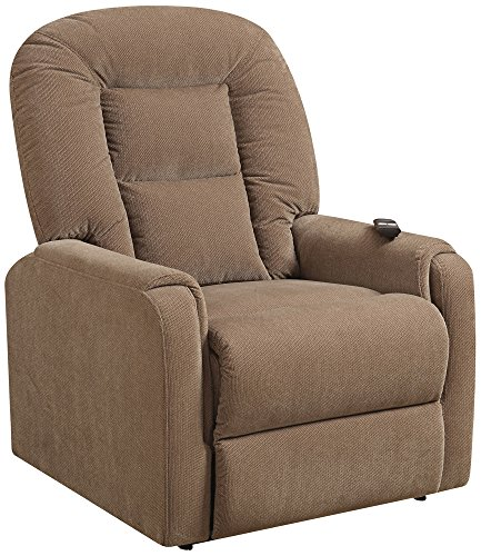 Pulaski Extra Comfortable Lift Chair, Light Mocha Brown