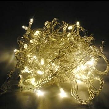 Bingsale 50m 400 stück led lampen led lichter lichterketten außen ...