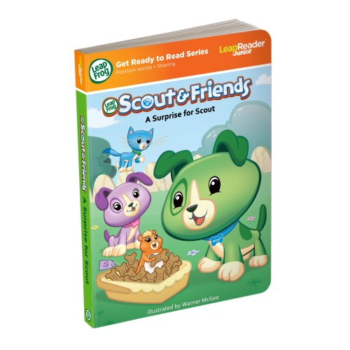 LeapFrog Tag Junior Book Scout And Friends: A Surprise for Scout (works with LeapReader Junior) by LeapFrog