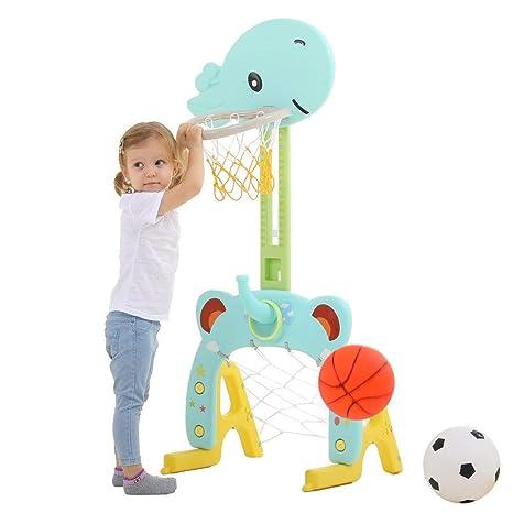 Juego de aros de baloncesto 3 en 1 Centro de actividades ...
