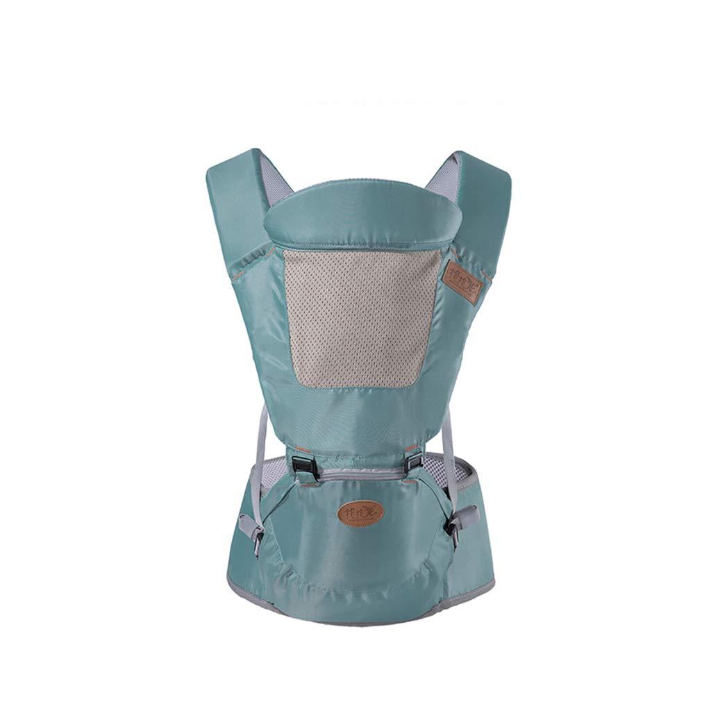 Babytrage, Vier Jahreszeiten Universal Neugeborenen Rucksack Multifunktionale Babytrage 3-36 Monate, Mehrfarbig Optional (Farbe   Blau)