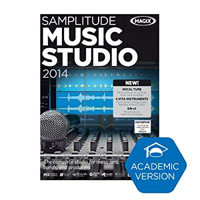 MAGIX Samplitude Music Studio 2014 (Academic Version) [Download]