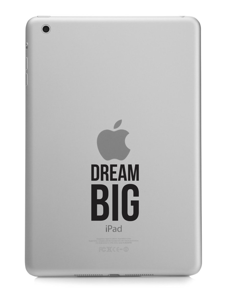 Dream Big Motivational Macbook Sticker Decal MacBook Pro Decal Air 13
