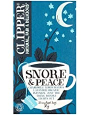 Clipper Tea Snore & Peace Org 1.06 OZ (Pack of 2)