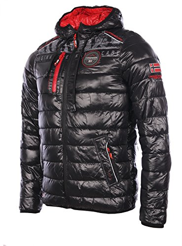 Geographical Norway homme - Doudoune Noir Geographical Norway MP3 Brith - Taille vêtements - S