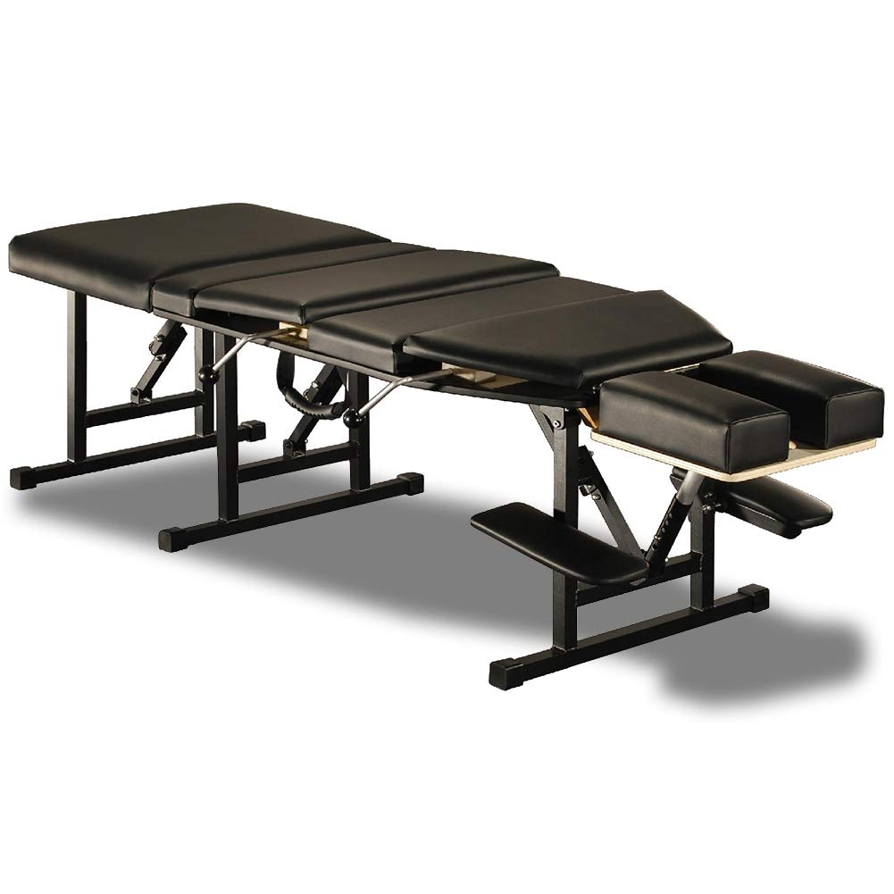 Sheffield Elite Professional Portable Chiropractic Table - Charcoal by Royal Massage