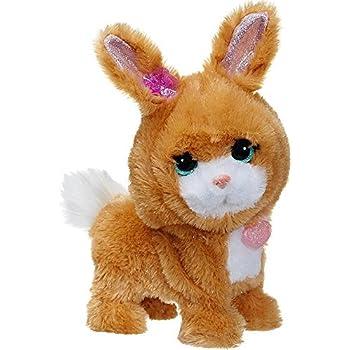 Amazon Com Furreal Friends Hop N Cuddle White Bunny