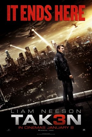 TAKEN 3 - Liam Neeson - UK Imported Movie Wall Poster Print
