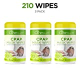 Care Touch CPAP Cleaning Mask Wipes - Citrus Scent, Lint Free - 70 Wipes, Pack of 3 - 210 Wipes Total