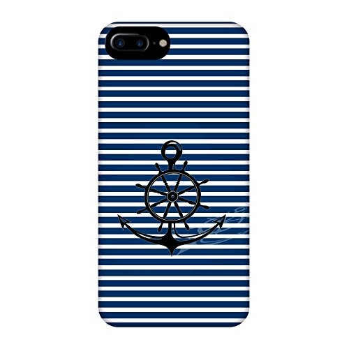 Coque Apple Iphone 7+ - Ancre Barre Marine