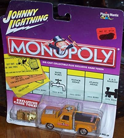 Johnny Lightning Monopoly Tennessee Ave. 79 Dodge Truck: Amazon.es: Juguetes y juegos
