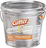 Cutter Citro Guard Candle, Bucket, Silver, 17-Ounce