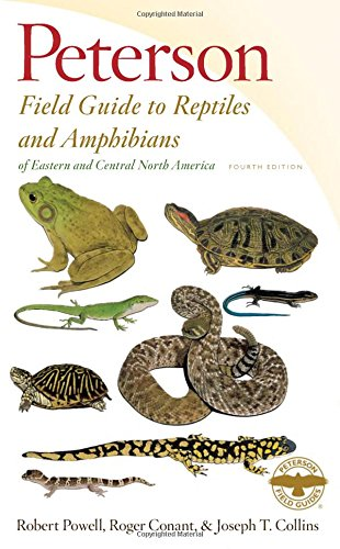 Peterson Field Guide to Reptiles and Amphibians of Eastern and Central North America, Fourth Edition (Peterson Field Guides) (Petersons Guide)