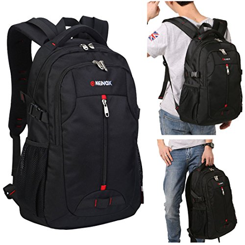 Kenox Water Resistant Laptop and Tablet Backpack for Notebook up to 15.6 Inch