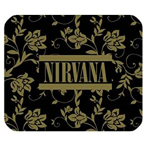 Generic Personalized NIRVANA Famous Popular Band Retro Style Logo for Rectangle Mouse Pad