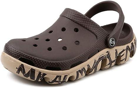 Tanxianlu Sandalias de Verano Zuecos de jardín para Hombres Zapatillas Sandalias de Playa para Hombres Zapatillas Zapatos Masculinos: Amazon.es: Deportes y aire libre