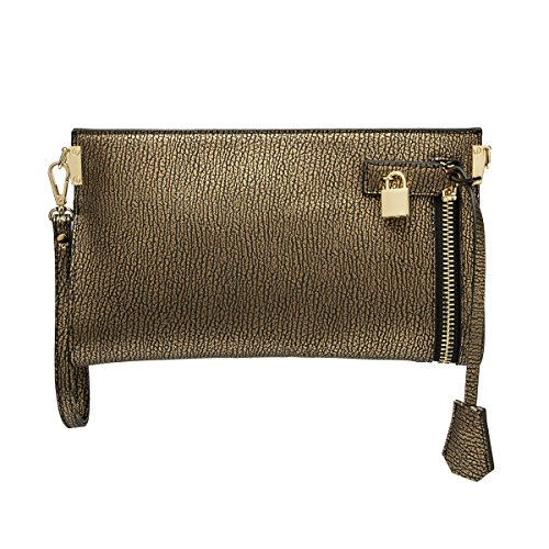 melie-bianco-misha-distressed-metallic-vegan-leather-slim-wristlet-crossbody-bag