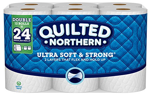 Large Product Image of Quilted Northern Ultra Soft & Strong® Toilet Paper, 12 Double Rolls, Bath Tissue