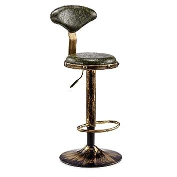 Groovy Calyvina Vintage Style Adjustable Swivel Bar Stool With Back Frankydiablos Diy Chair Ideas Frankydiabloscom