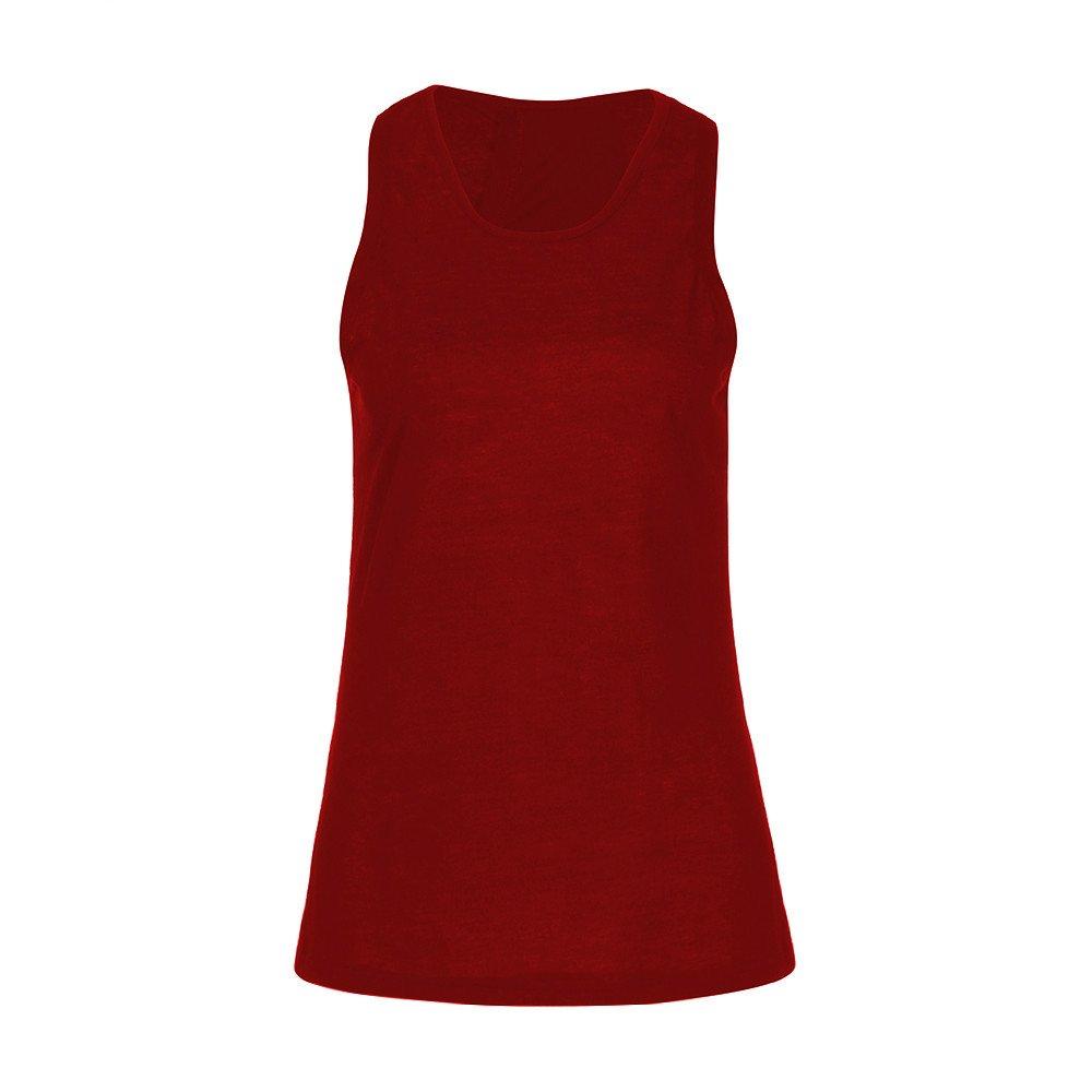 TWGONE Racerback Tank Tops For Women Workout Yoga Cross Back Shirt Sleeveless Active Vest (X-Large,WineRed)