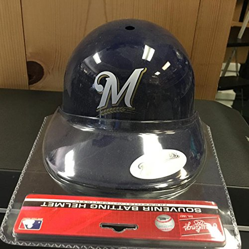 (MILWAUKEE BREWERS RAWLINGS SOUVENIR BATTING HELMET PERFECT FOR AUTOGRAPHING )