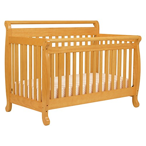 DaVinci Emily 4-in-1 Convertible Crib in Honey Oak - Oak Baby Cribs