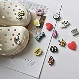 15Pcs Cute Novel Shoe Charms for Crocs Kids Party