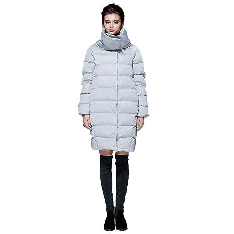 wholesale dealer daa0a 18296 WUYEA Abbigliamento da Donna Caldi Piumini Cappotto Lungo ...