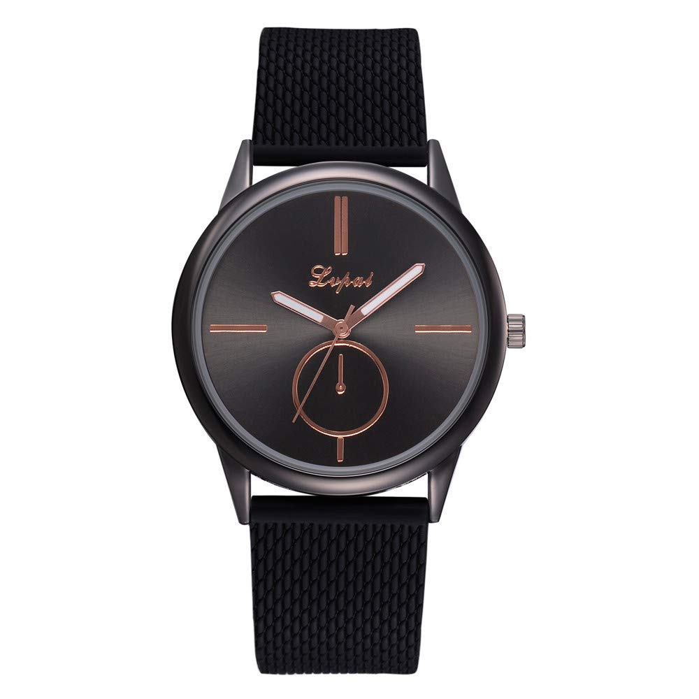 Clearance On Sale Watches,FRana Wrist Watch Retro Leather Band Luxury Fashion Classic Casual Analog Quartz Watch