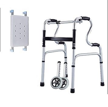 YLOVOW Andador De 2 Ruedas Drive Medical Rollator Walker Pliegue Y ...