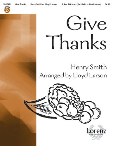 Give Thanks Music Sheet - 4