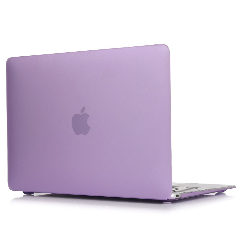 Matte Rubberized Hard Case Cover for Macbook ProLaptop Shell- Air 13 inch Purple