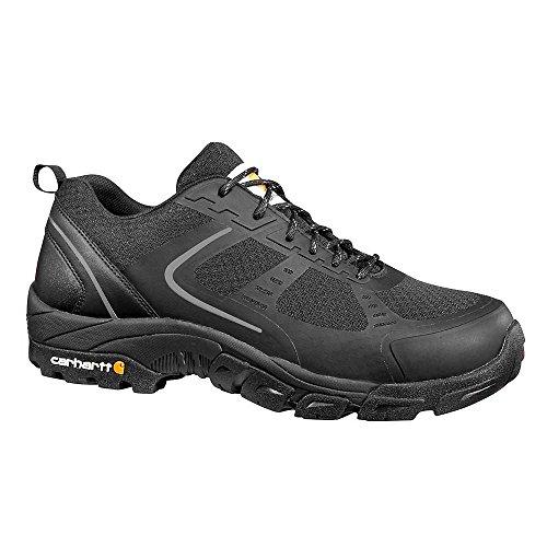 Duty Shoe (Carhartt Men's Oxford Black Lightweight Hiker Steeltoe CMO3251 Industrial Boot, Black Mesh and Synthetic, 11.5 W US)