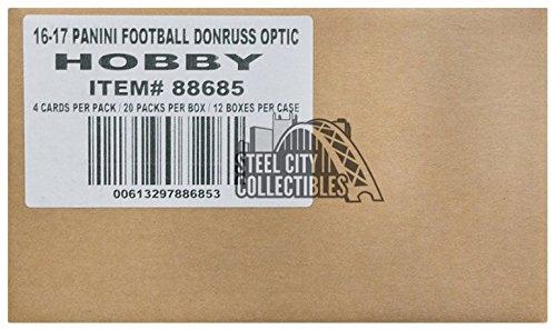 2016 Panini Donruss Optic Football Hobby 12-Box Case