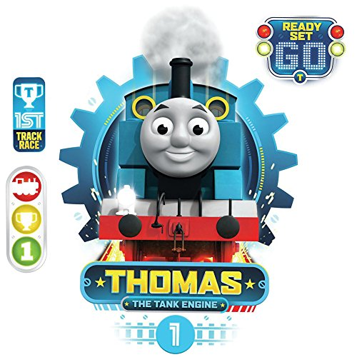 Thomas The Tank Engine Mural - Thomas the Tank Engine Peel and Stick Wall Decals 13 x 20in