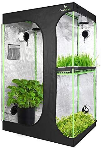 CoolGrows 업그레이드된 2-in-1 마일라 수경용 창문과 바닥 트레이가 있어 실내 식물 발아를 위한 쉬운 볼 수 있습니다. / CoolGrows 업그레이드된 2-in-1 마일라 수경용 창문과 바닥 트레이가 있어 실내 식물 발아를 위한 쉬운 볼 수 있습니다.