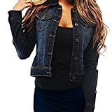 SKYLINEWEARS Womens Full Sleeve Coat Casual Jean Soft Denim Jacket Reviews